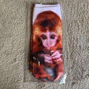 Monkey socks new in package